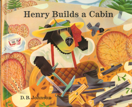 Cover of Henry Builds A Cabin