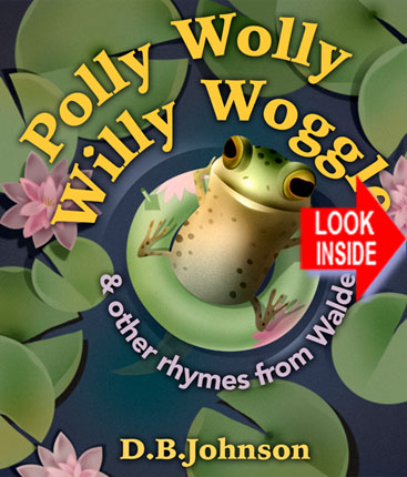 Cover for Polly Wolly Willy Woggle animated picture book.
