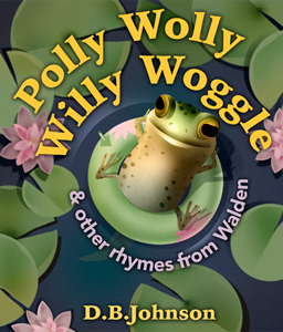 Cover of the animated picture book Polly Wolly Willy Woggle.